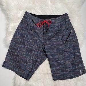 Lululemon Unlined Multi-Colour Board Shorts